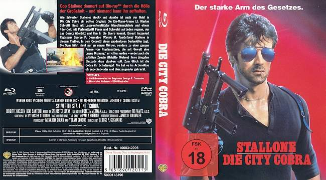 Die City Cobra German Dvd Covers
