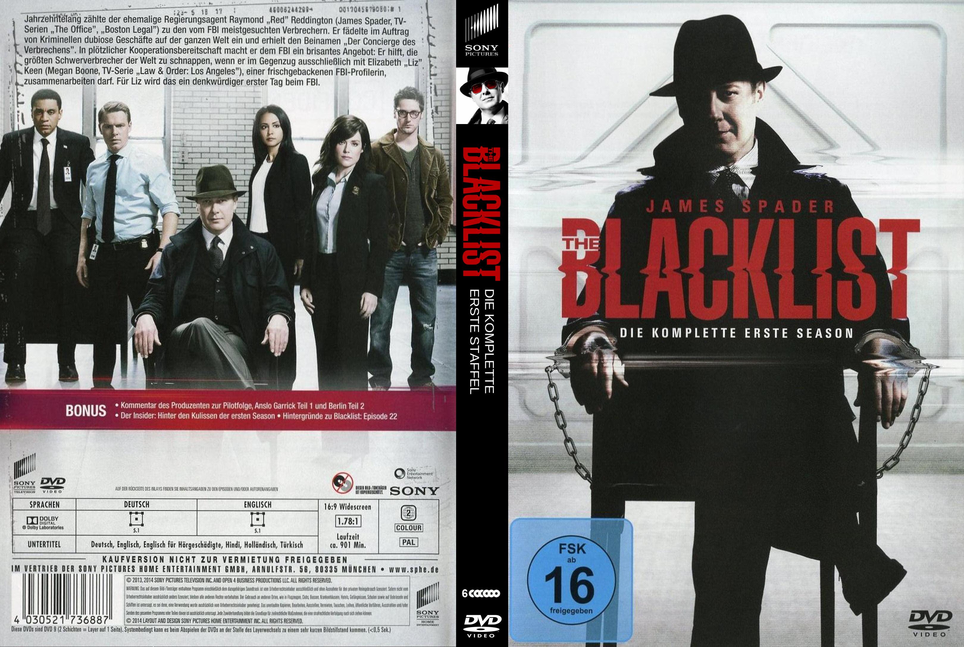 Blacklist Staffel 6