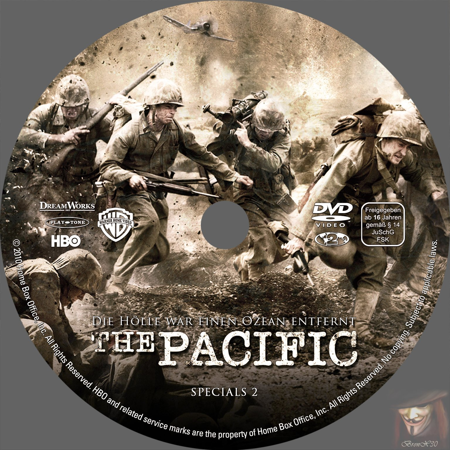 The Pacific Dvd  German Dvd Covers