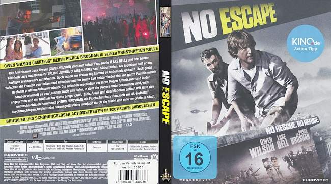 No Escape (2015 film) - Wikipedia