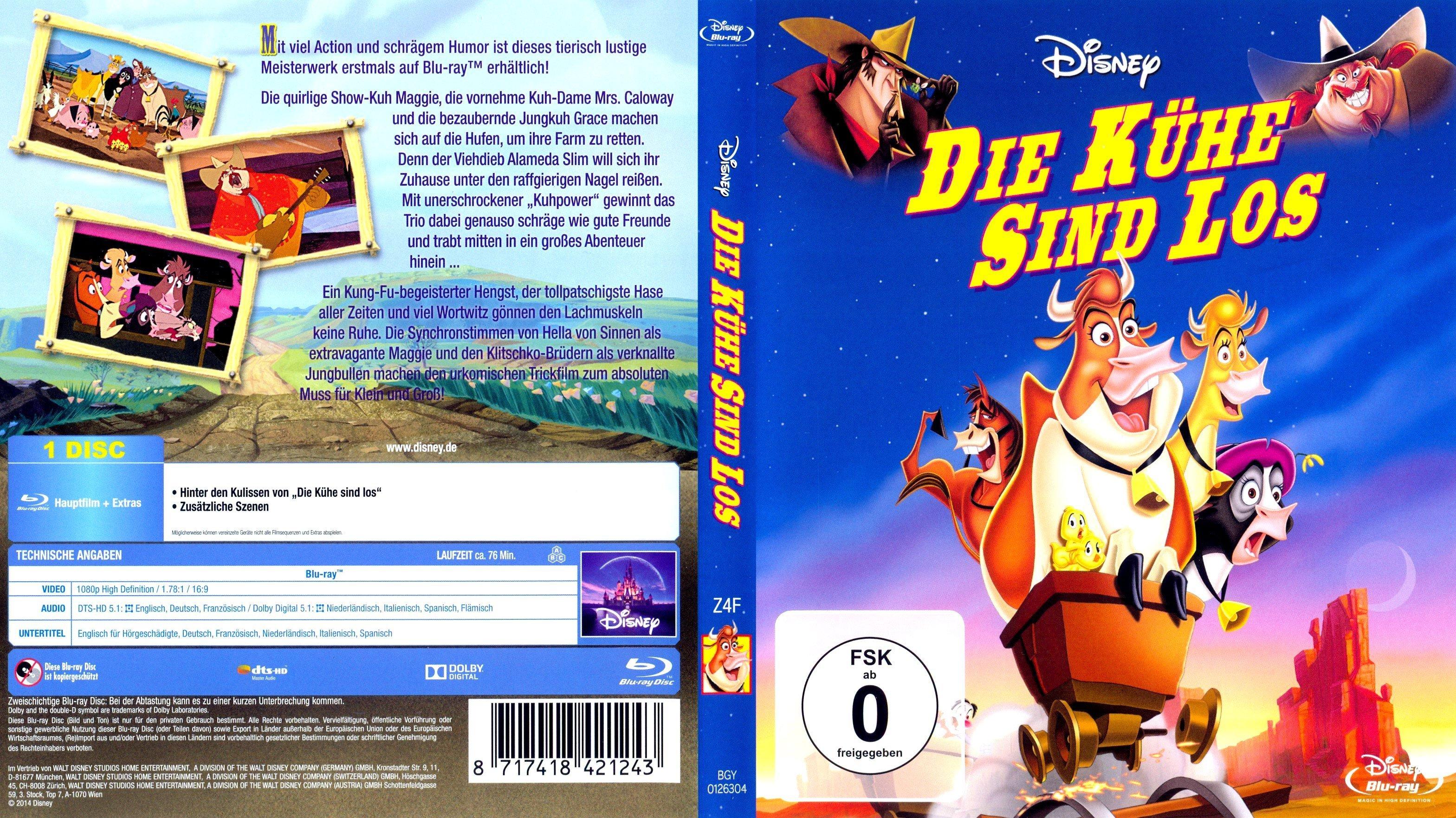 Die Kühe sind los   German DVD Covers
