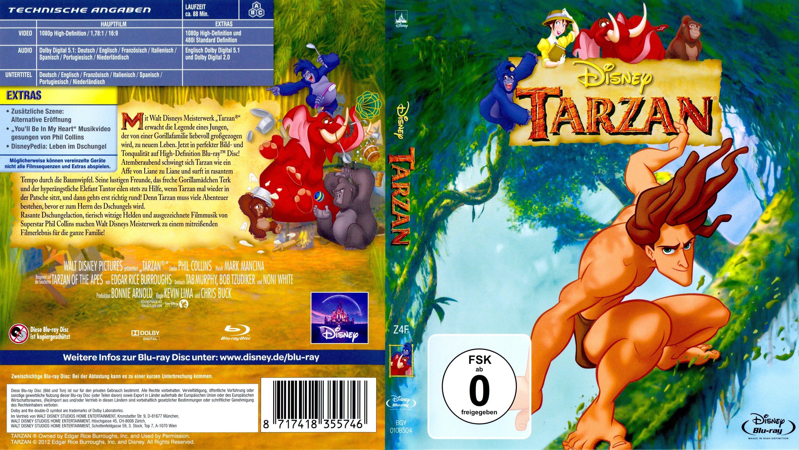 Tarzan Deutsch