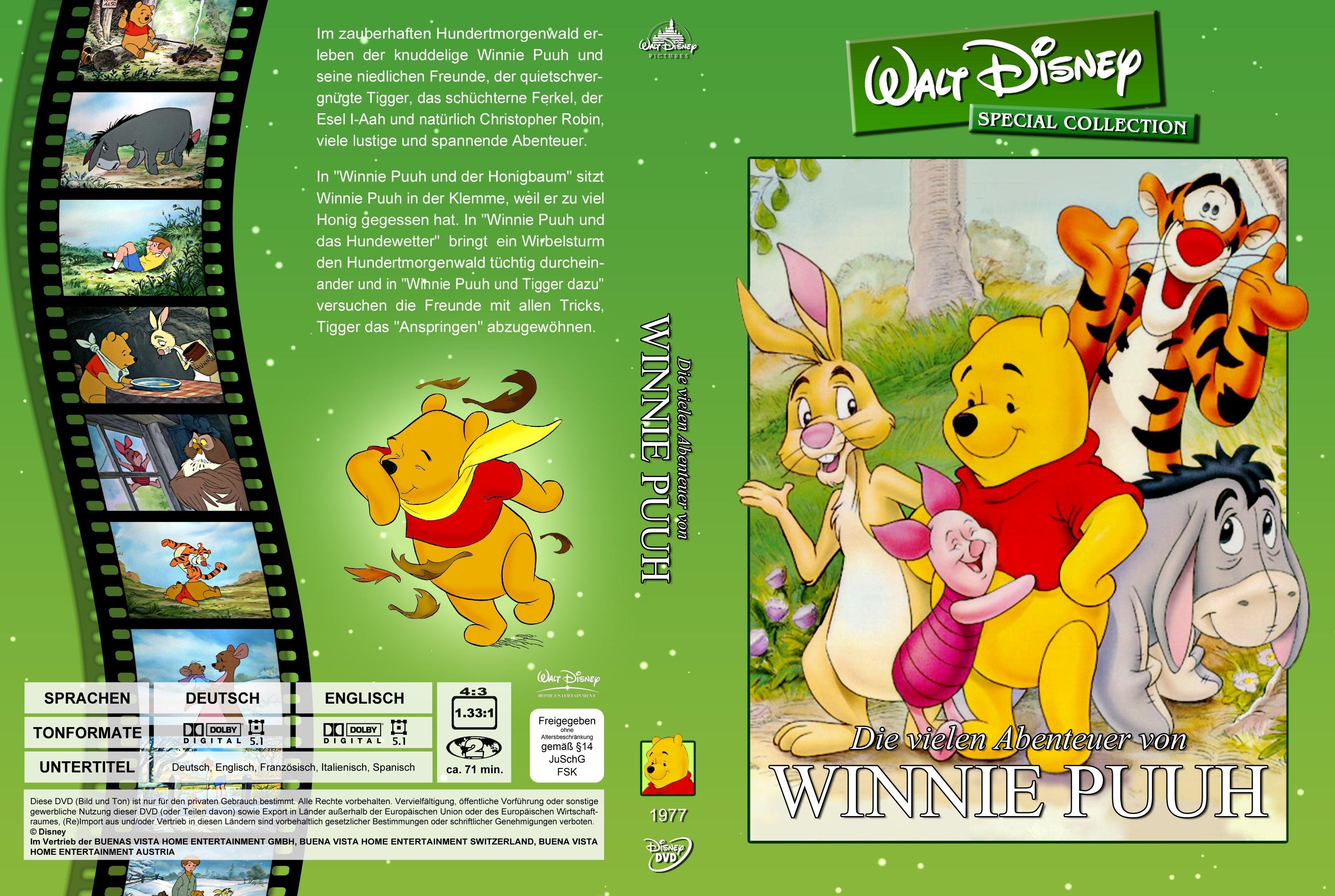Die vielen Abenteuer von Winnie Puuh Walt Disney Special