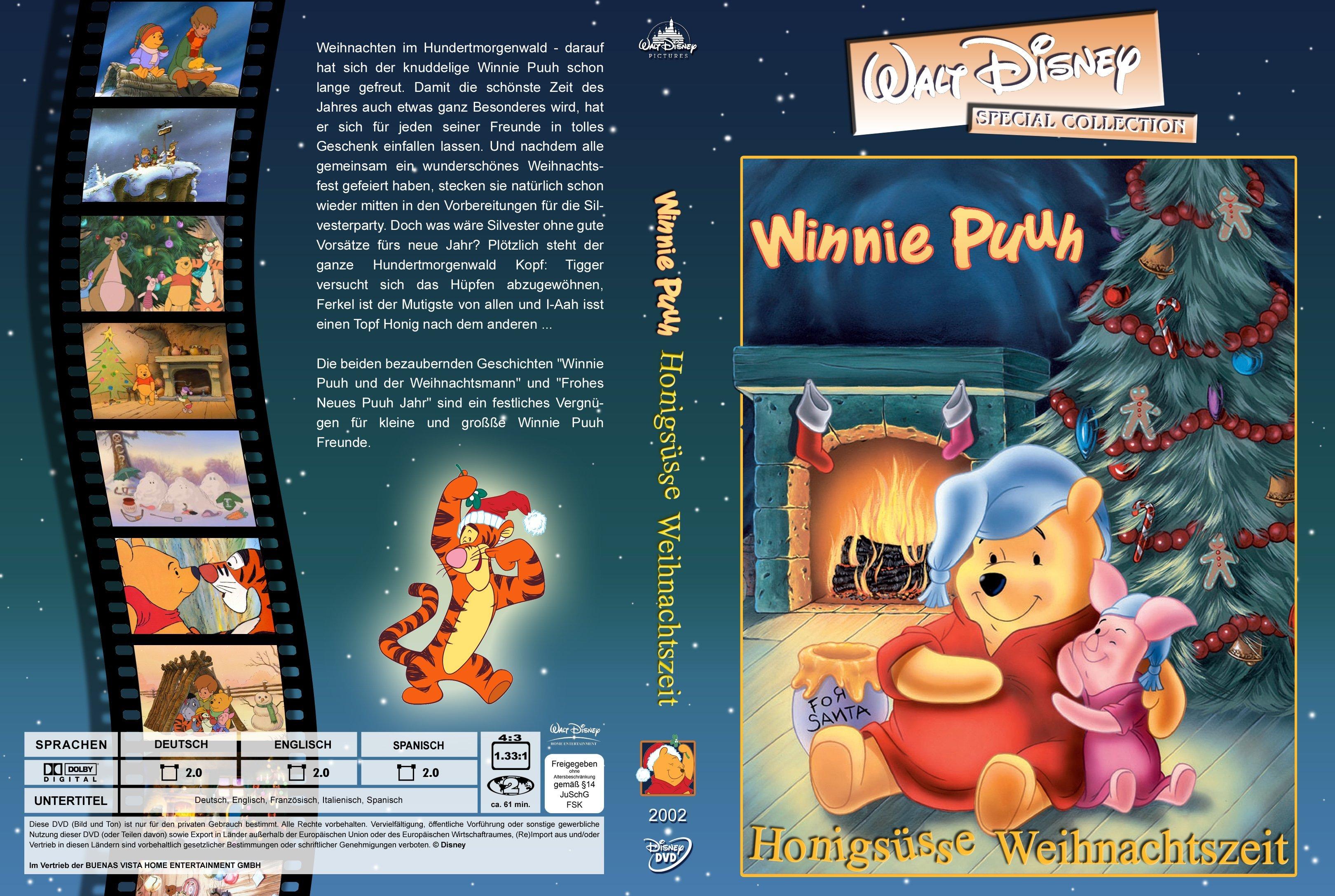 Winnie Puuh Honigssse Weihnachtszeit Walt Disney Special