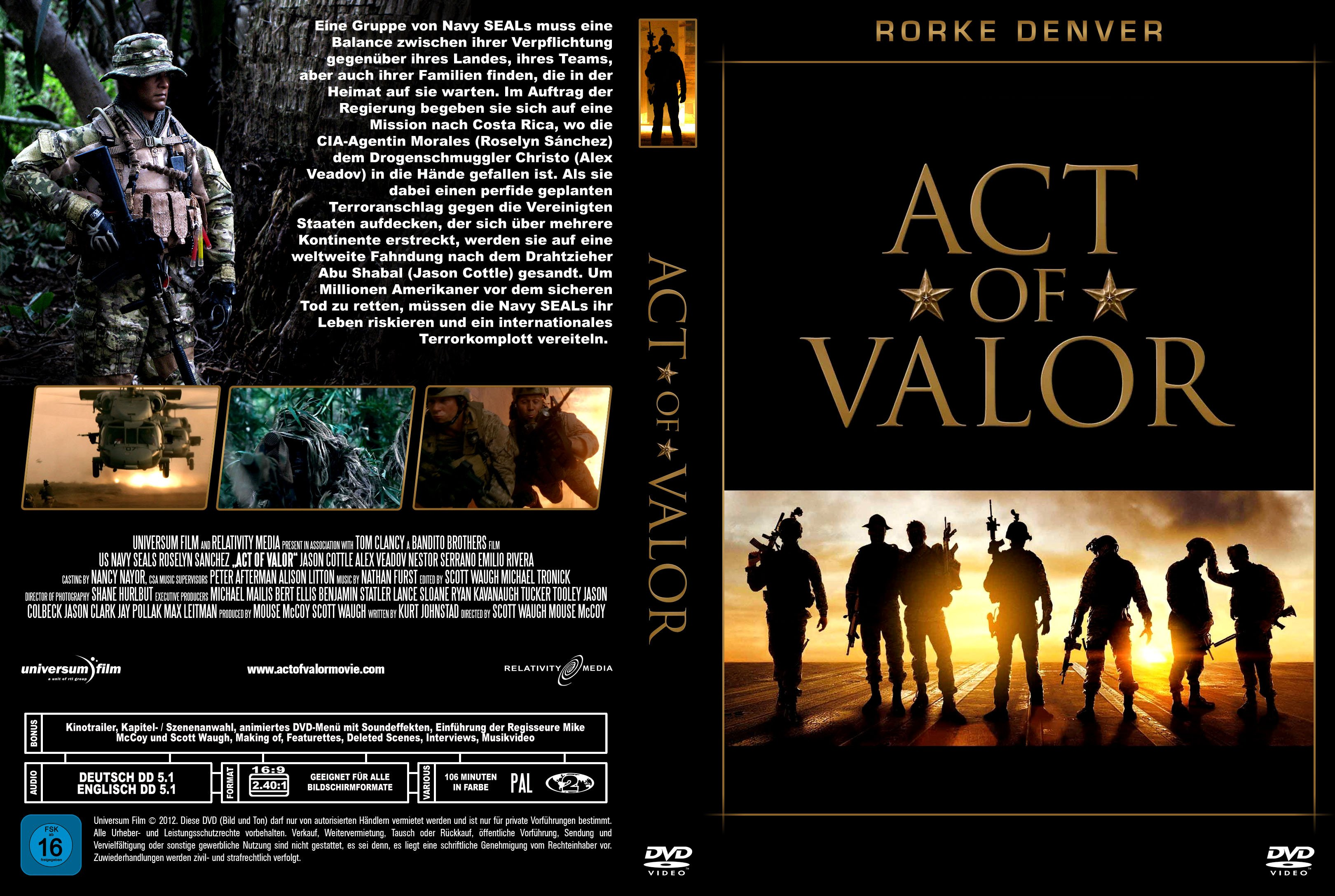 the uncommon act of valor in the movie act of valor Uncommon valor photos view all photos (4) movie info randall 'tex' cobb surprisingly trying to act being a good guy and a very young pat swayze.