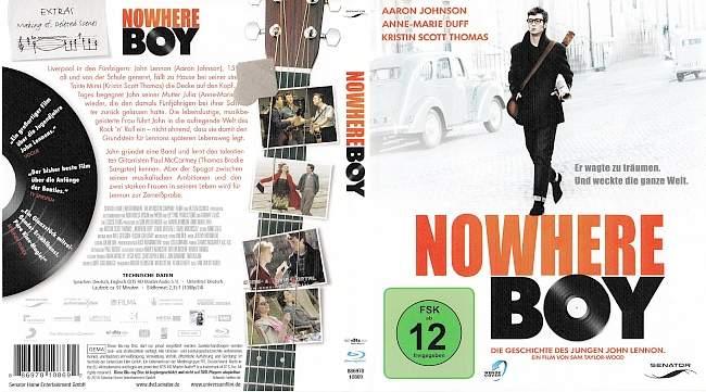 Nowhere Boy blu ray cover german