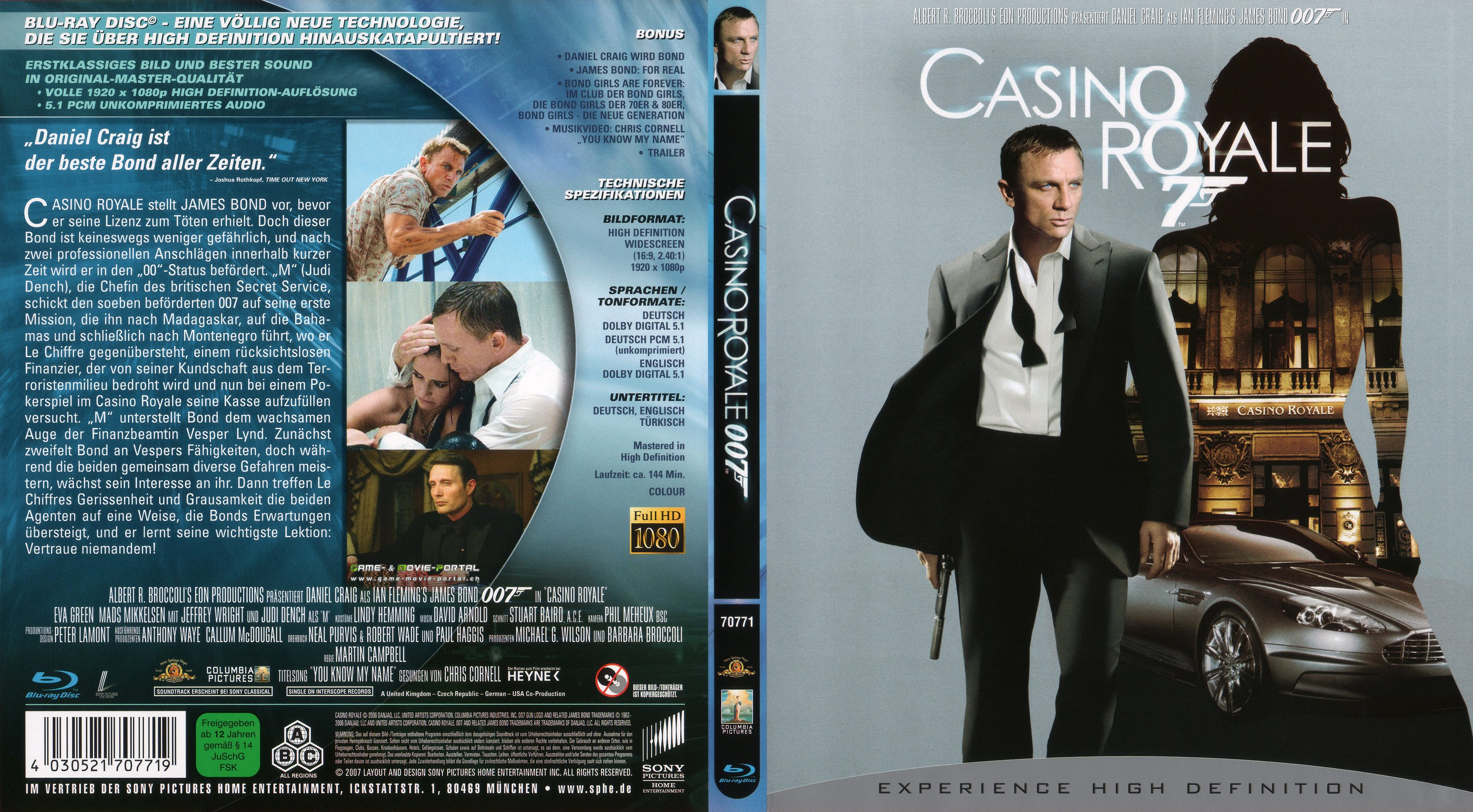 james bond casino royale dvd cover