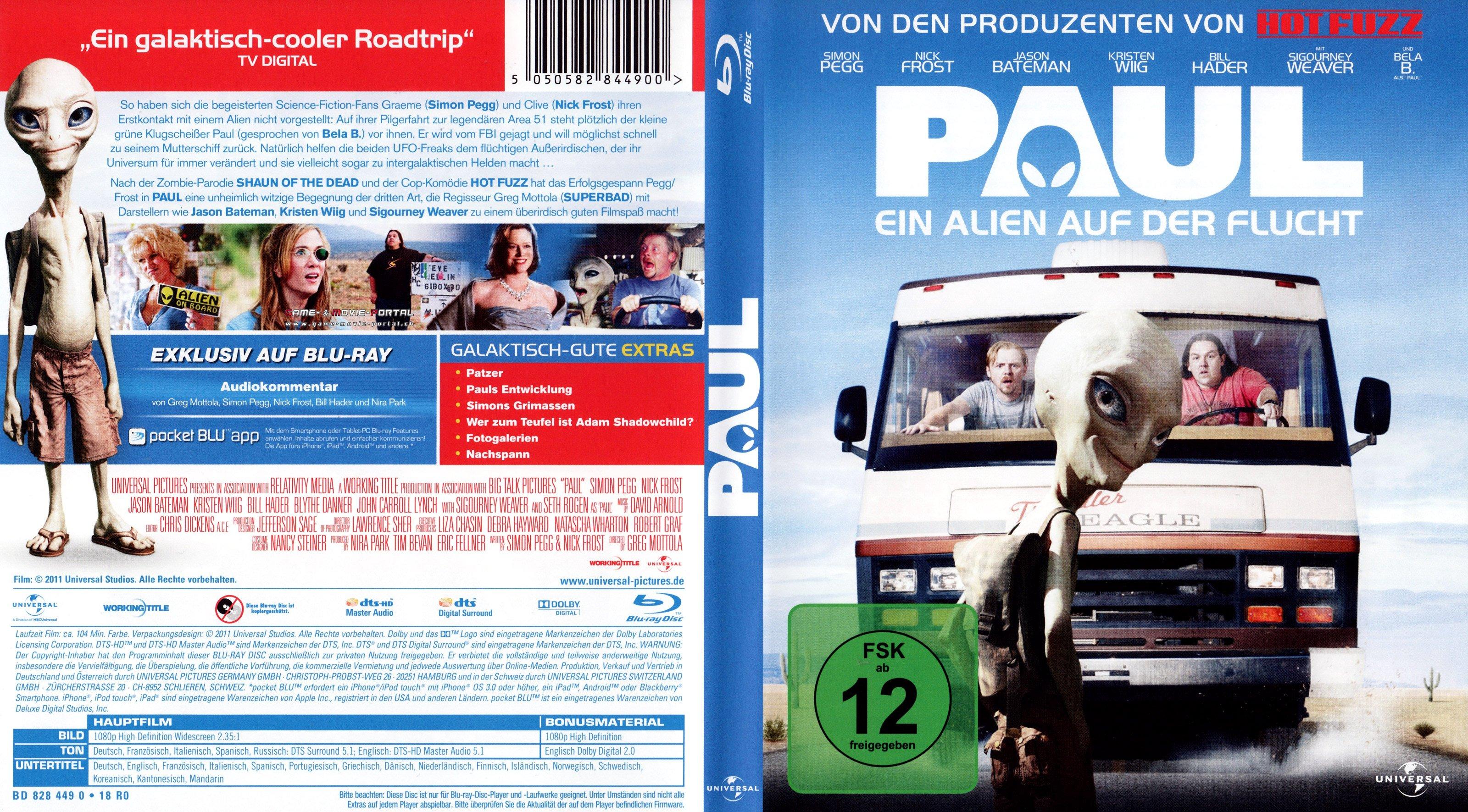 Paul – Ein Alien Auf Der Flucht