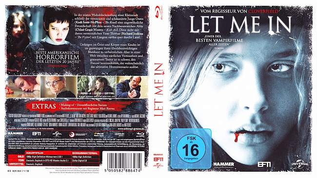 Let Me In blu ray cover german