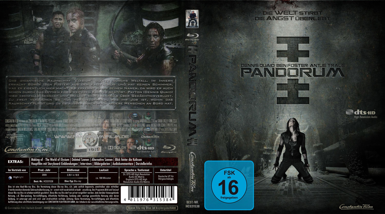 Pandorum blu ray cover german | German DVD Covers