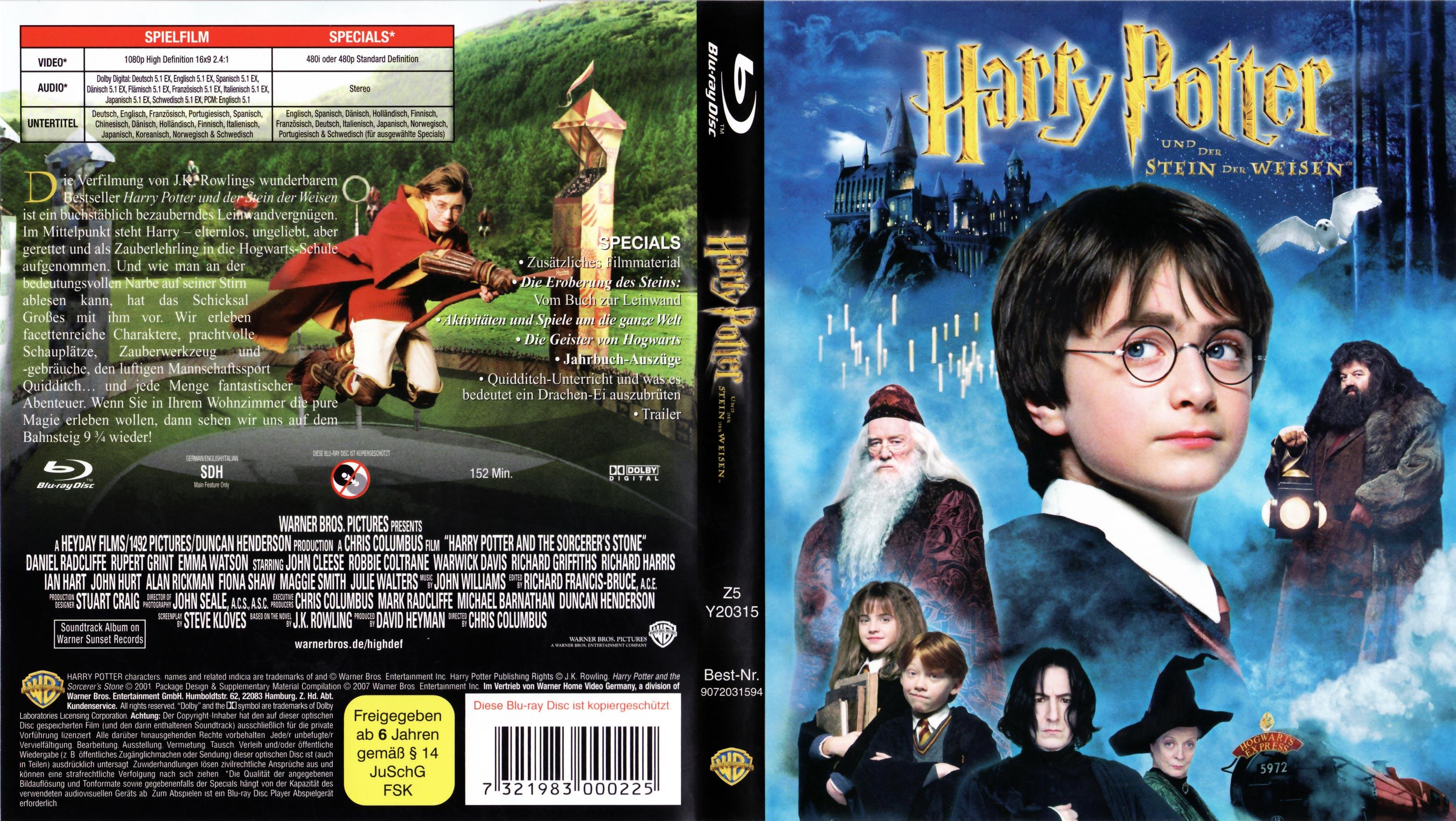 harry potter alle dvds