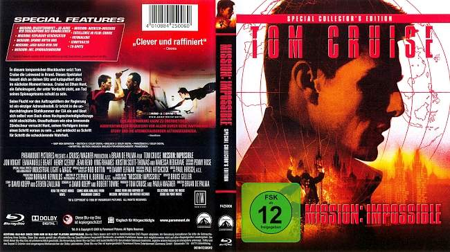 Mission Impossible blu ray cover german