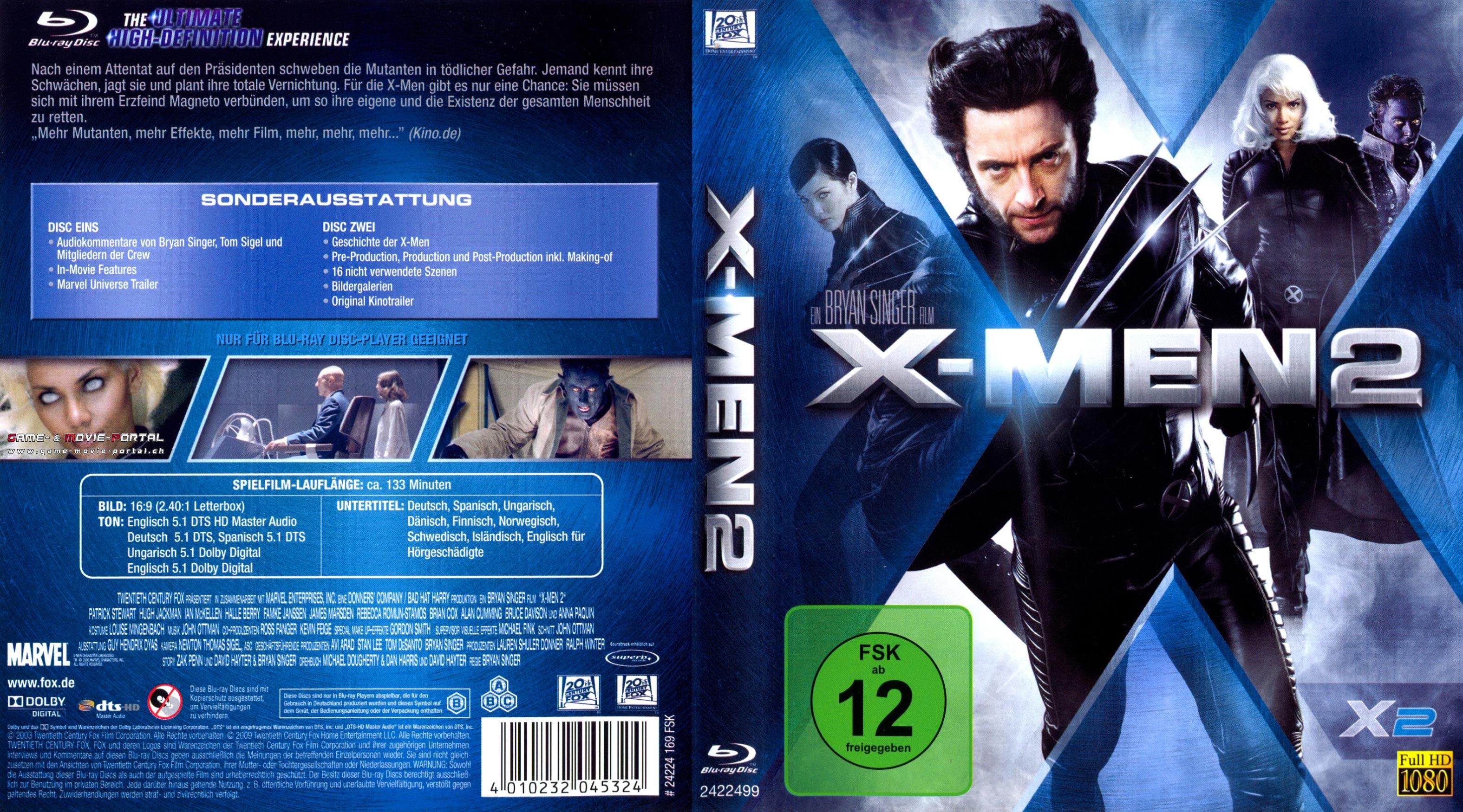 X-Men 2 Stream German