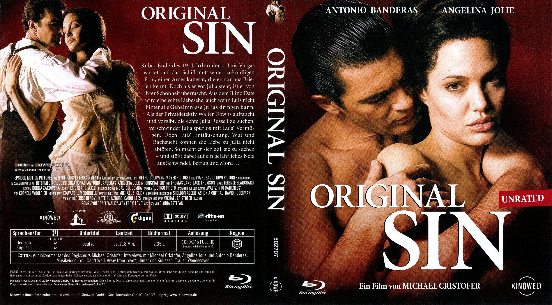 Angelina Jolie Original Sin original sin angelina jolie blu ray cover german | german