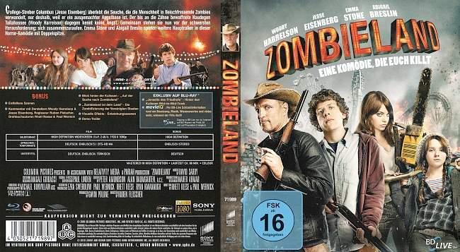 Zombieland blu ray cover german