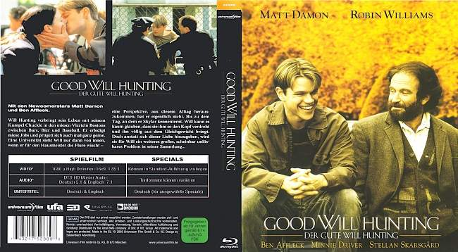 Good Will Hunting blu ray cover german