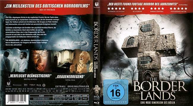 The Borderlands blu ray cover german