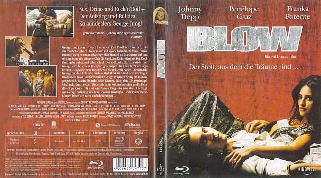 Blow Johnny Depp german blu ray cover