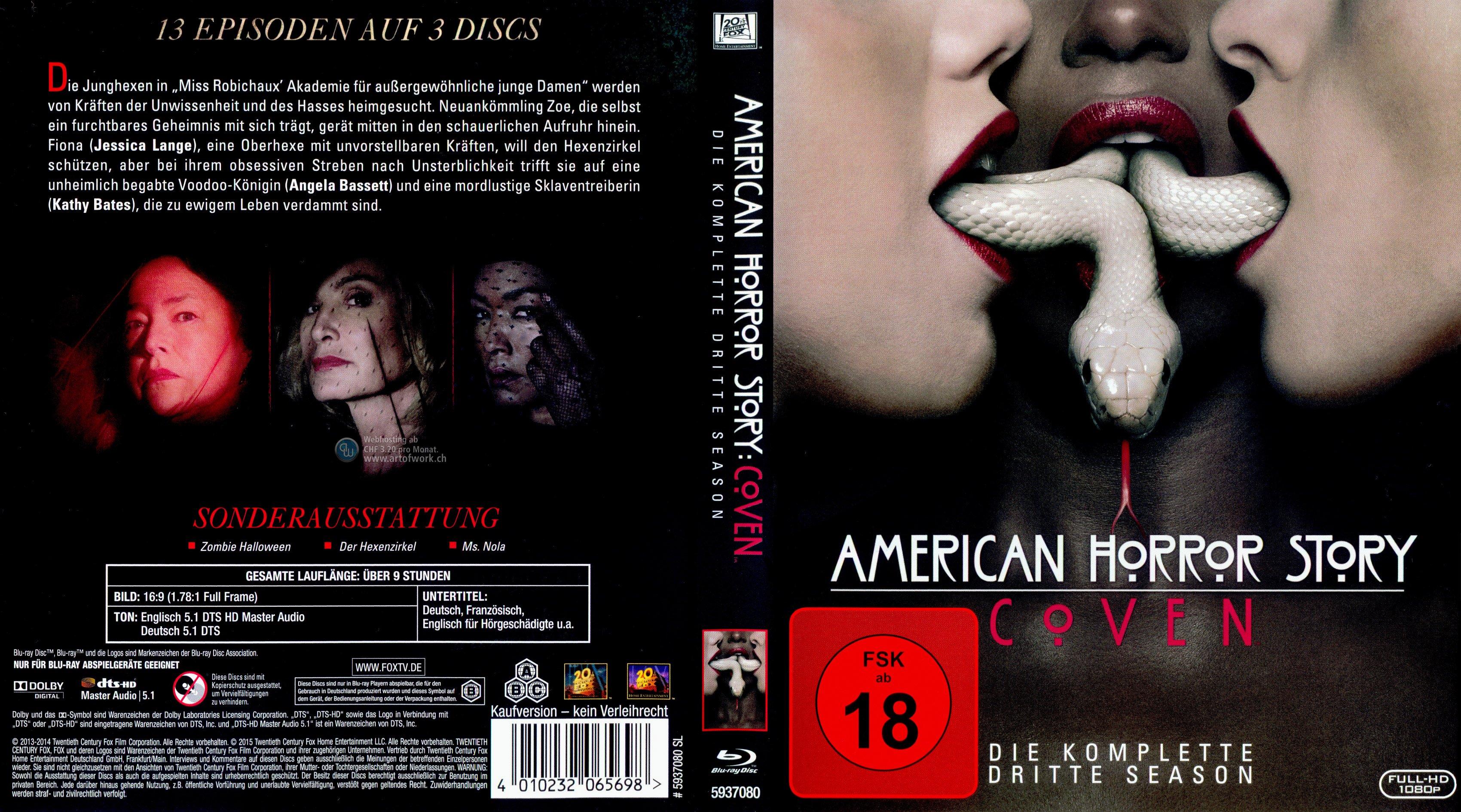 American Horror Story Staffel 3 Besetzung
