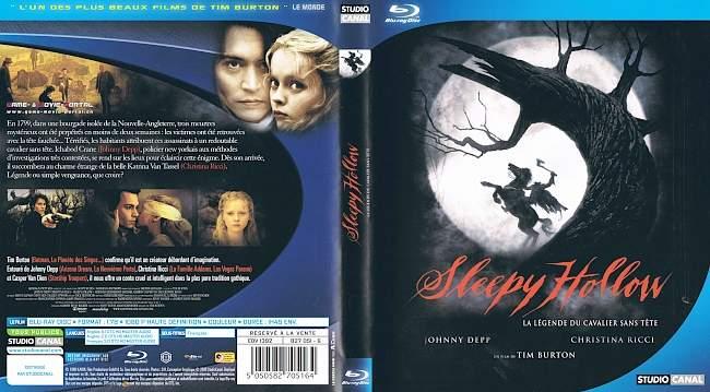 Sleepy Hollow Johnny Depp blu ray cover german