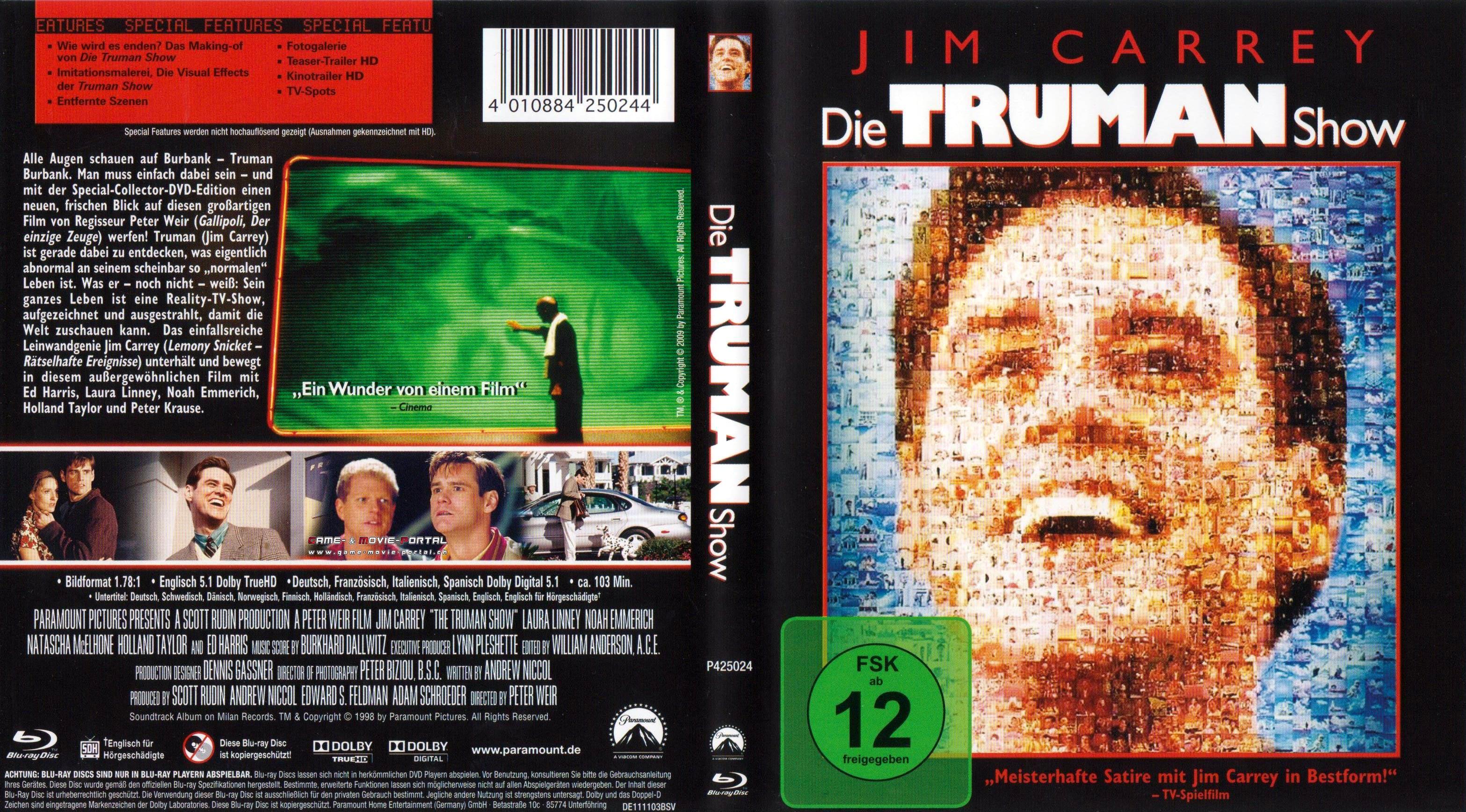 The Truman Show 1998 Hindi Dubbed  filmyzillaorg
