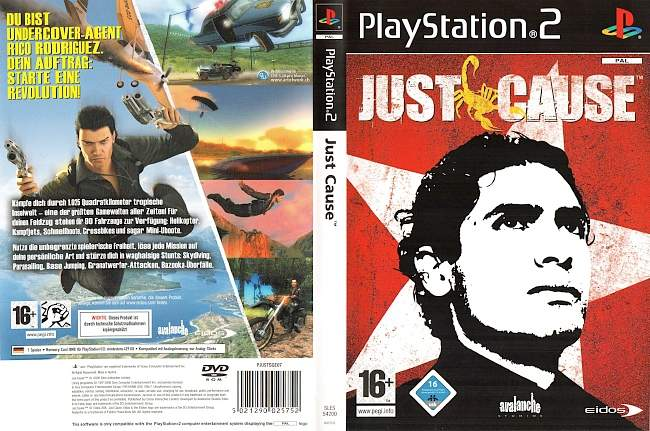 Just Cause Playstation 2 cover german