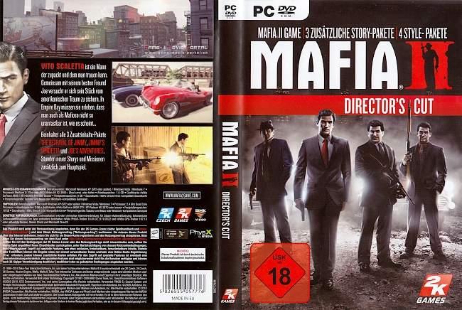 Mafia 2 Directors Cut pc cover german