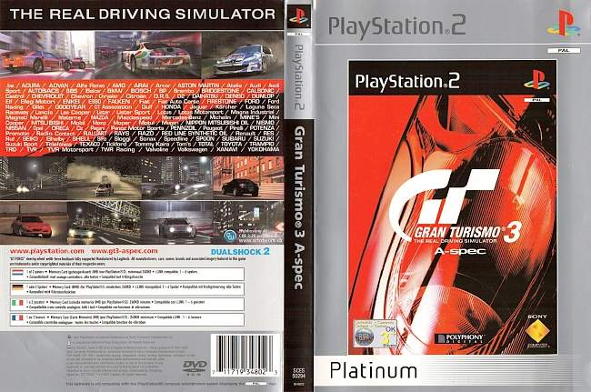 Gran Turismo 3 A Spec Playstation 2 cover german