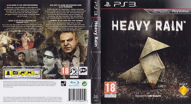 Heavy Rain german ps3 cover