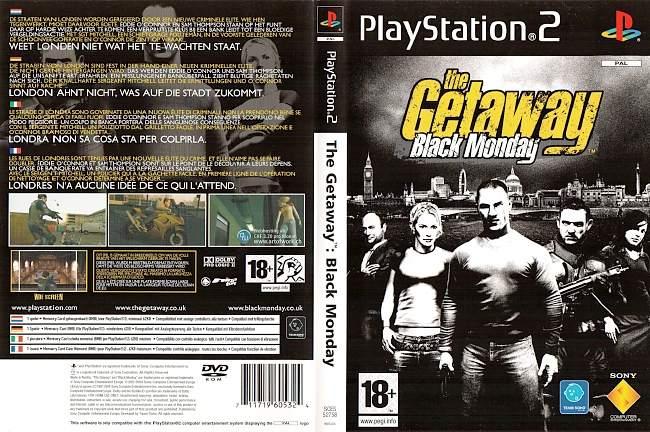The Getaway Black Monday Playstation 2 cover german