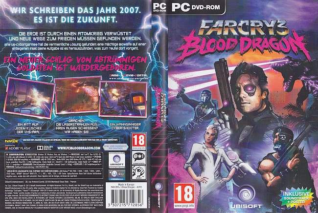 Far Cry 3 Blood Dragon pc cover german