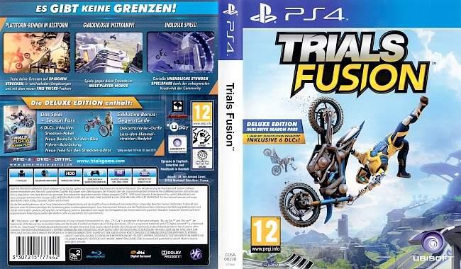 Trials Fusion german ps4 cover