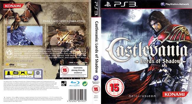 Castlevania Lords of Shadow german ps3 cover