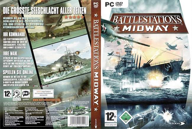 Midway Battlestations pc cover german