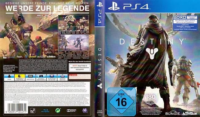 Destiny german ps4 cover