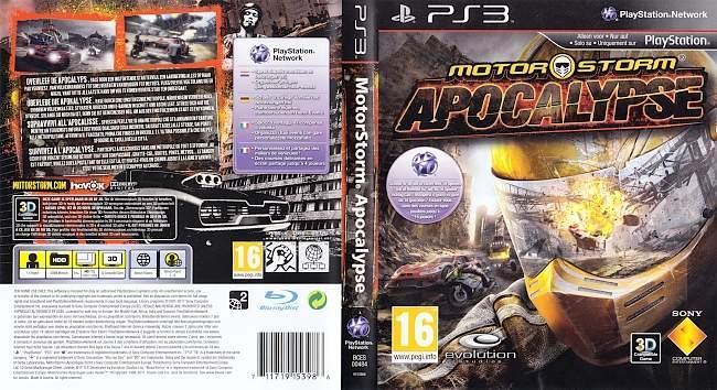Motorstorm Apocalypse german ps3 cover