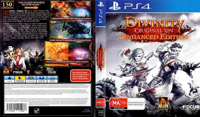 Divinity Original Sin Enhanced Edition german ps4 cover