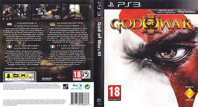 God of War 3 german ps3 cover