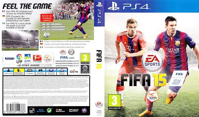 FIFA 15 german ps4 cover
