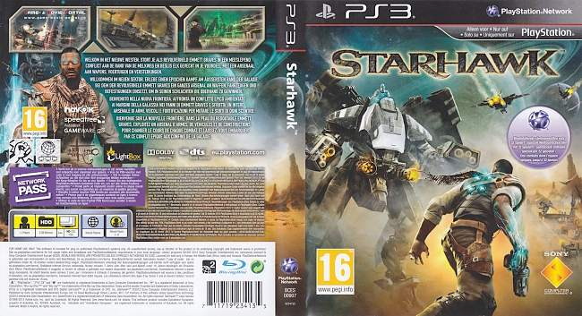 Starhawk german ps3 cover
