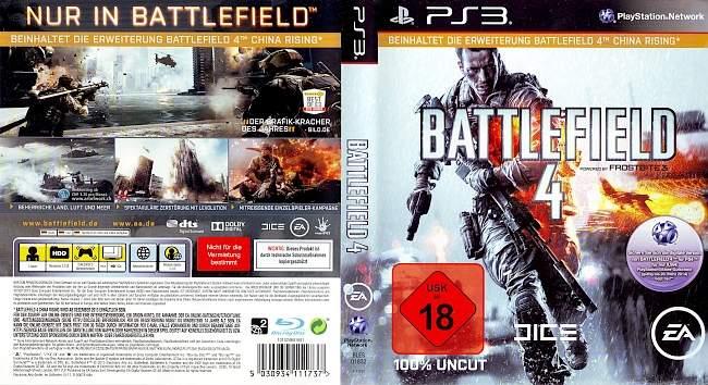 Battlefield 4 german ps3 cover