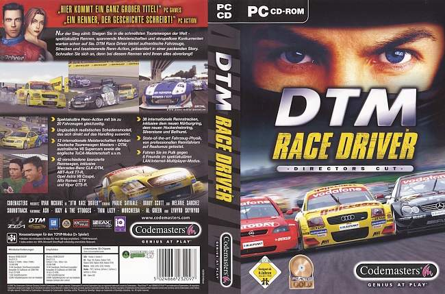 DTM Race Driver pc cover german