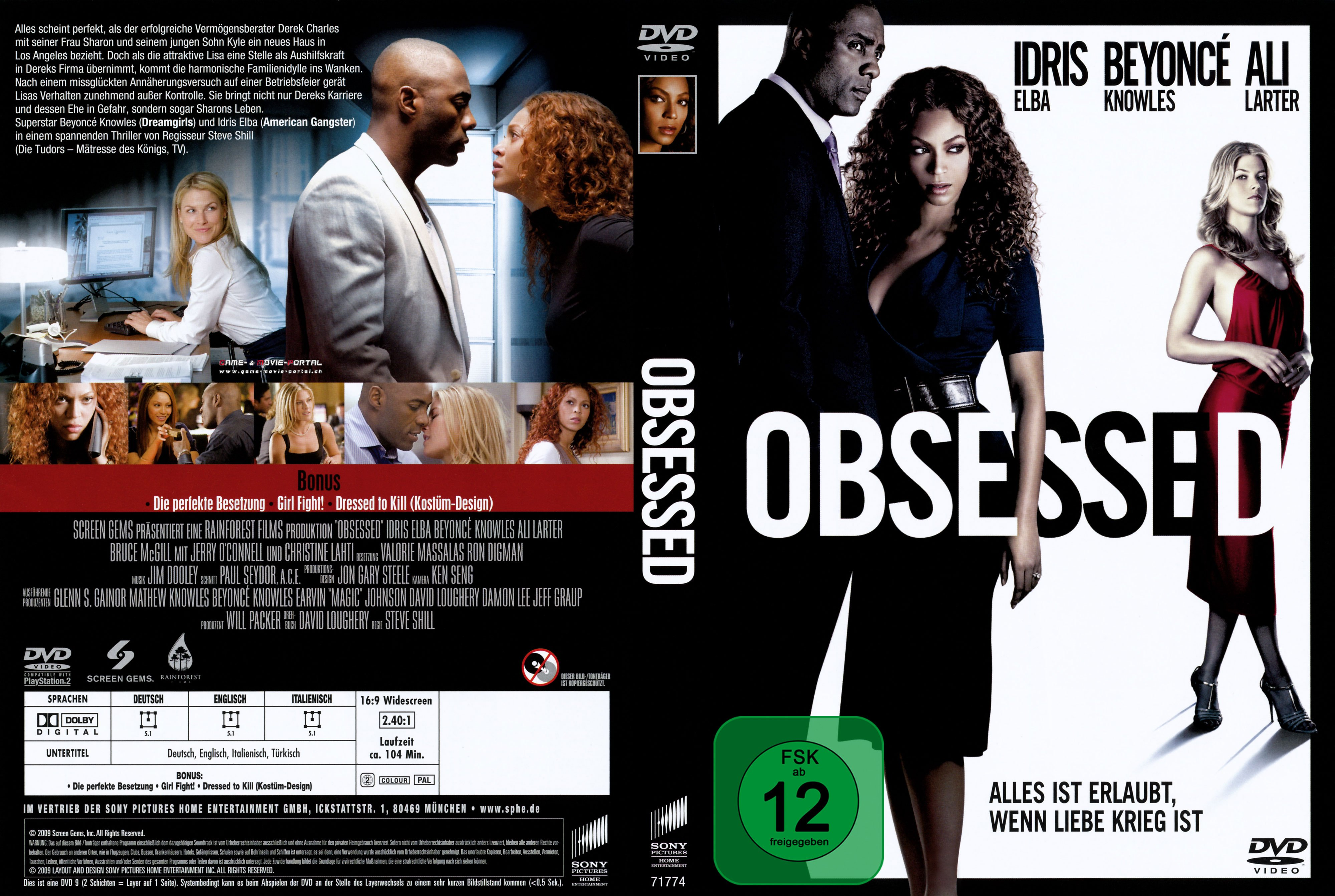 Obsessed Deutsch