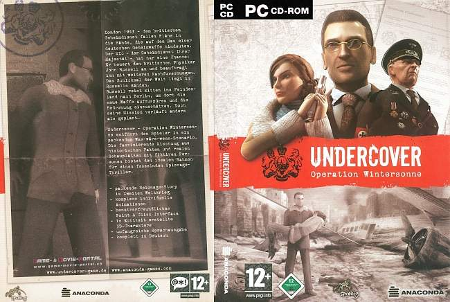 Undercover pc cover german