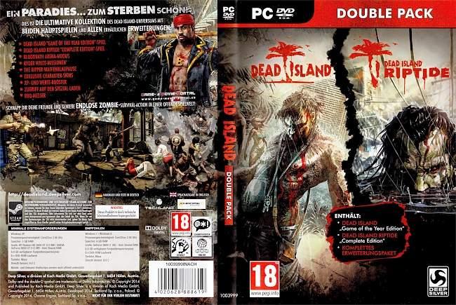 Dead Island Double Pack Dead Island Riptide pc cover german