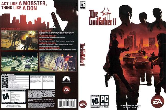 Der Pate 2 The Godfather 2 pc cover german
