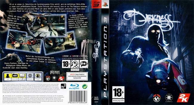 The Darkness german ps3 cover
