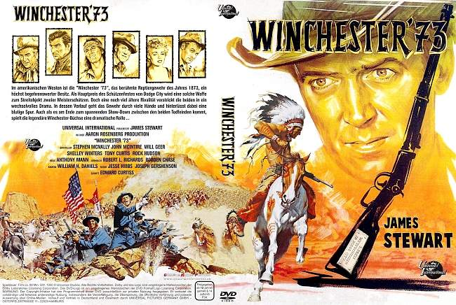 Winchester 73 dvd cover german