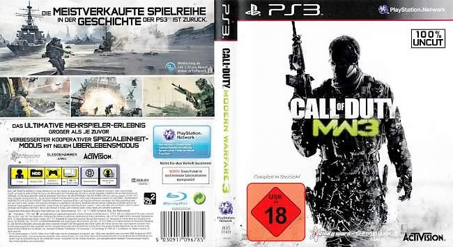 Call of Duty Modern Warfare 3 Version 2 german ps3 cover