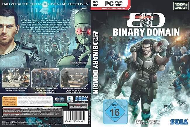 Binary Domain pc cover german
